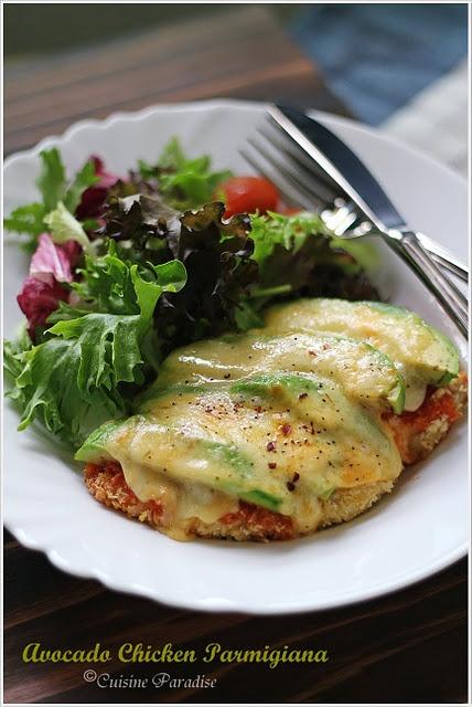 Avocado Chicken Parmigiana Recipe