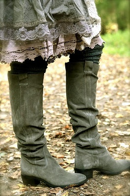 Rustic Style Layered Skirt