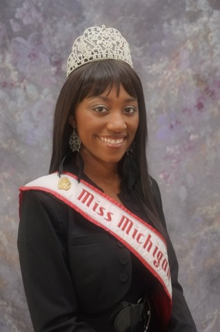 Victoria J. Mangham, 2012 Miss Michigan under the National American Miss pageant system