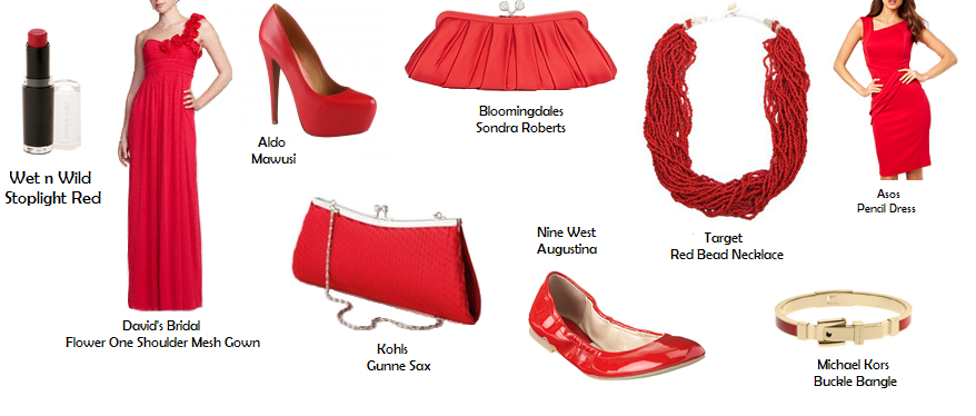 Rouge Red Fashion