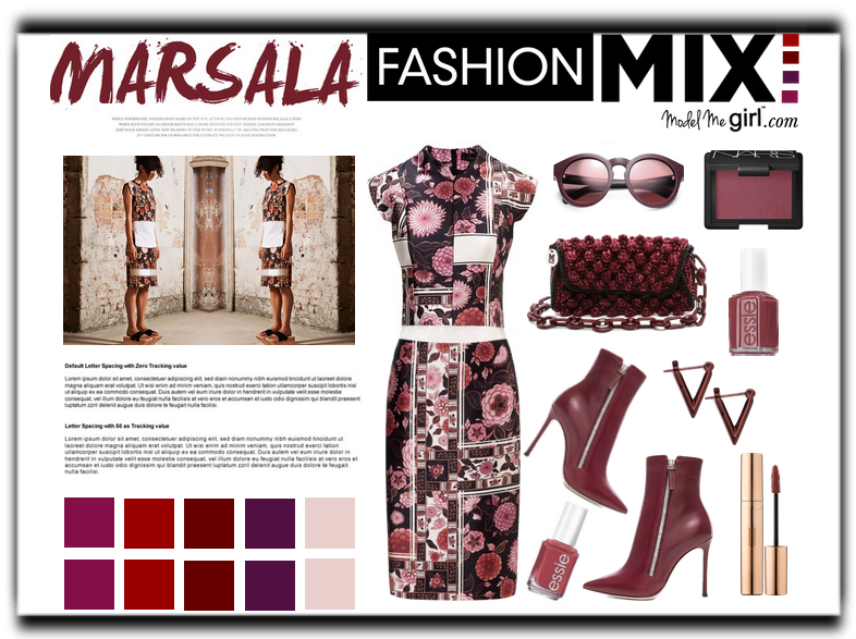 Marsala Fashion Mix-2